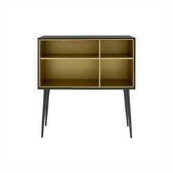 Kermes | Sideboard Black / Brass | Sideboards | Ligne Roset