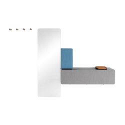 DICE Coat storage programme | Percheros de pared | Schönbuch