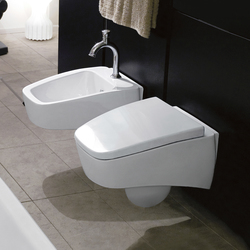 Spa Wall hung wc + wall hung bidet | WCs | Kerasan