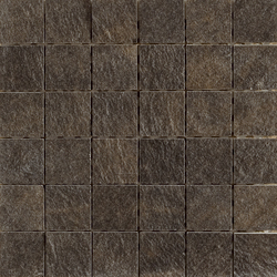 Arketipo Nero Mosaico Tile | Ceramic mosaics | Refin