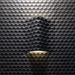 Complementi Luce | Favo curve luce | Panneaux en pierre naturelle | Lithos Design