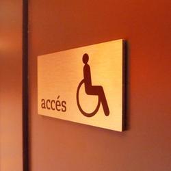 silenzio uno | Toilet signs | Marcal Signalétique