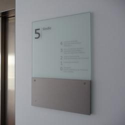 silenzio uno | Cartelli segnaletici per ambienti | Marcal Signalétique