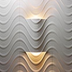 Complementi Luce | Seta curve luce | Natural stone panels | Lithos Design