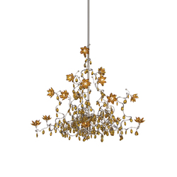 Jewel Chandelier suspension 15-amber | Éclairage général | HARCO LOOR