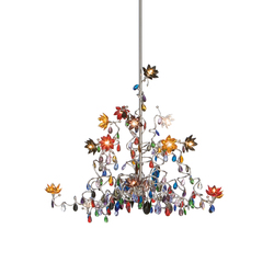 Jewel Chandelier pendant light 15-multicolor | Iluminación general | HARCO LOOR