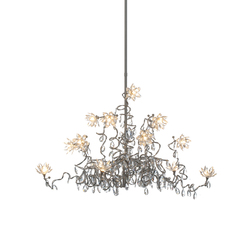 Jewel Chandelier pendant light 15-transparent | Illuminazione generale | HARCO LOOR