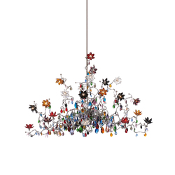Jewel Chandelier pendant light 24-multicolor | Iluminación general | HARCO LOOR