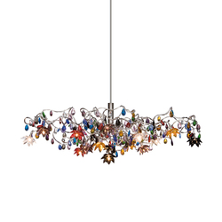 Jewel pendant light 15-multicolor | General lighting | HARCO LOOR