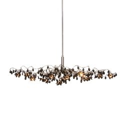 Jewel Oval pendant light 15-black | Suspended lights | HARCO LOOR