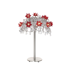 Jewel table lamp 12-red-with-transparent | General lighting | HARCO LOOR