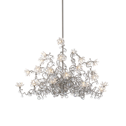 Jewel Diamond Chandelier pendant light 24-transparent | General lighting | HARCO LOOR