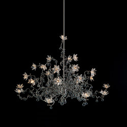 Jewel Diamond Chandelier pendant light 24-transparent | Iluminación general | HARCO LOOR