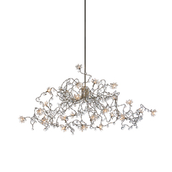 Jewel Diamond pendant light 24-transparent | Iluminación general | HARCO LOOR