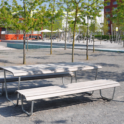 Landi special table | Benches with tables | BURRI