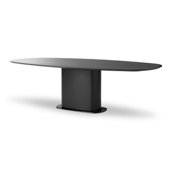 Hochwertige esstische mit tischplatte oval auf architonic for Esszimmertisch oval
