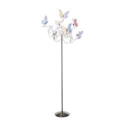 Papillon floor lamp 7-iridescent | Free-standing lights | HARCO LOOR