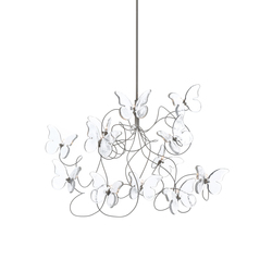 Papillon pendant light 12-transparent | Suspended lights | HARCO LOOR