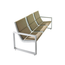 Rail System | Waiting area benches | Forma 5