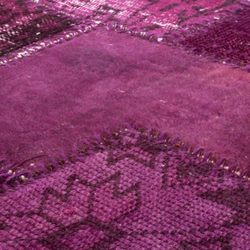 Industrial fuchsia purple | Rugs | Miinu