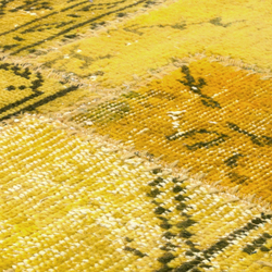 Industrial lemon curry | Rugs / Designer rugs | Miinu