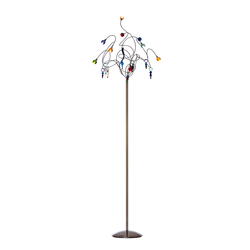 Strawberry floor lamp 9-multicolor | General lighting | HARCO LOOR