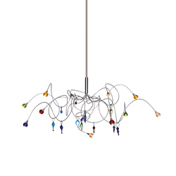 Strawberry pendant light 12-multicolor | Suspended lights | HARCO LOOR