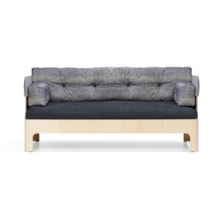 Koja Sofa Low S52L | Loungesofas | Blå Station