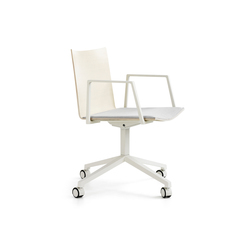 Archal Armchair 4-feet swivel with castors | Sillas de visita | Lammhults