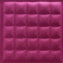 BuzziSkin 3D Tile Square-25 | Paneles de pared | BuzziSpace