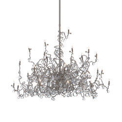 Tiara Diamond Chandelier suspension 24 | Éclairage général | HARCO LOOR