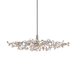 Tiara Diamond oval pendant light 15 | Suspended lights | HARCO LOOR