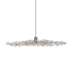 Tiara Diamond oval pendant light 24 | General lighting | HARCO LOOR