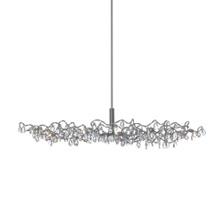 Tiara Oval Pendant light 12-transparent | Lámparas de suspensión | HARCO LOOR