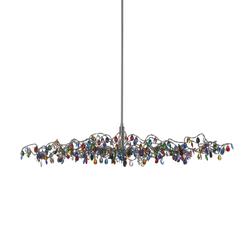 Tiara Oval Pendant light 15-multicolor | General lighting | HARCO LOOR