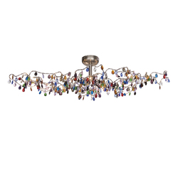 Tiara Oval Ceiling light 15-multicolor | Lámparas de techo | HARCO LOOR