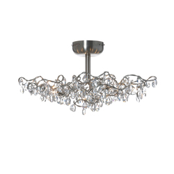Tiara ceiling light 12-transparent | General lighting | HARCO LOOR
