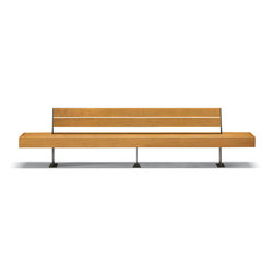 Harris | Exterior benches | Metalco