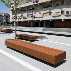 Harris Big | Exterior benches | Metalco