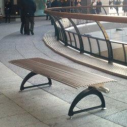 Libre Piana | Exterior benches | Metalco