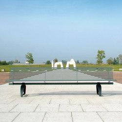 Libre 3000 | Exterior benches | Metalco