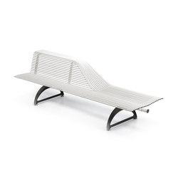 Libre Half | Exterior benches | Metalco