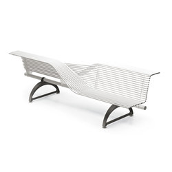 Libre Torsion | Exterior benches | Metalco