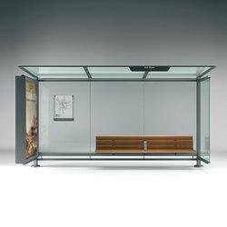Pensilis | Bus stop shelters | Metalco
