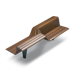 Sedis Torsion | Exterior benches | Metalco