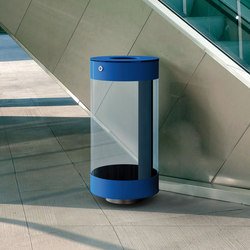 Spencer Clear | Exterior bins | Metalco