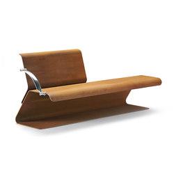 Volo | Exterior benches | Metalco