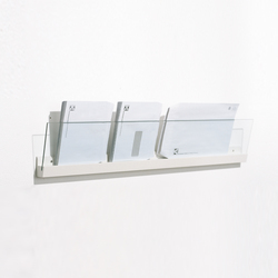 Front Ledge FR3 100 | Brochure / Magazine display stands | Karl Andersson