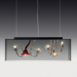 Curiosity Cabinet suspension | General lighting | A.V. Mazzega