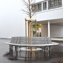 Libre Settore | Bancos de exterior | Metalco